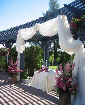 Ajoutez une touche de féminité en composant une décoration de salle en tulle ! Choisissez le tulle pour décoration de cérémonie de mariage (en décoration des bancs d'église). Préférez le tulle comme tentures pour de grandes et belles décorations de salle...