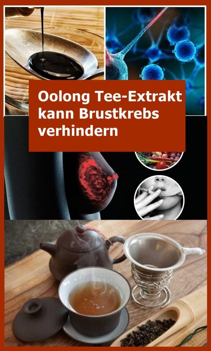 Oolong Tee-Extrakt kann Brustkrebs verhindern | njuskam!