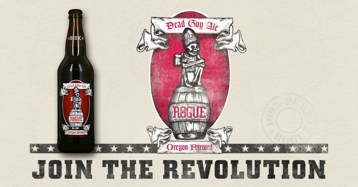 Rogue #DeadGuyAle is gratefully dedicated to the Rogue in each of us. Dare. Risk. Dream. #RogueAles #CraftBeer