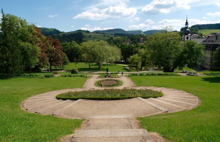 Schlosspark Gersfeld Schlosspark, Wasserkuppe, Schloss