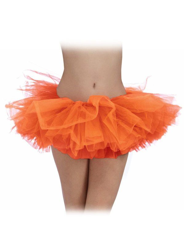 Check out Womans Orange Tutu - Cheap Dancewear from Costume Discounters