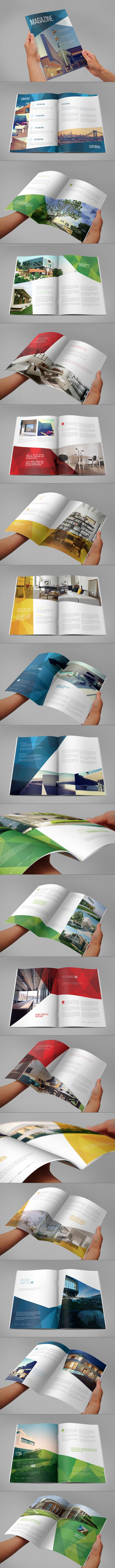 Modern Architecture Magazine by Abra Design, via Behance