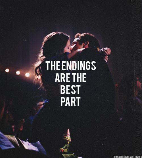 The endings.