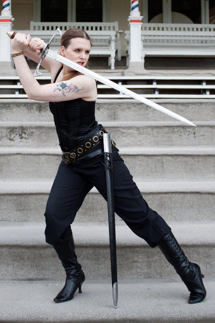 Sword pose stock 8 by Random-Acts-Stock.deviantart.com on @DeviantArt