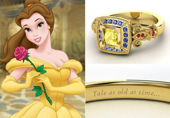 10 anillos de compromiso inspirados en las-princesas