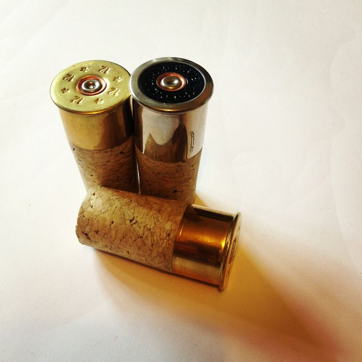Shotgun cartridge wine stopper