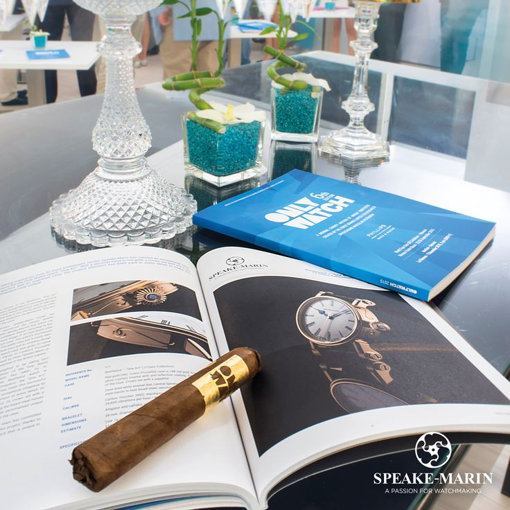 """Speake-Marin had the immense pleasure to be present at Monaco for the first exhibition of the Only Watch association in which the Swiss brand contributes with a one-of-a-kind model: Resilience """"One Art"""".  www.speake-marin.com"""