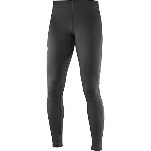 Salomon Women's Long Sport Tights, Agile, Synthetic blend, Fig, X-Small--17.09