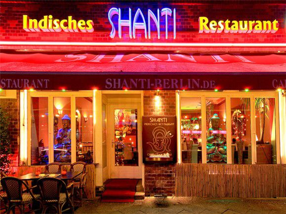 Shanti, Indisches restaurant, Berlin