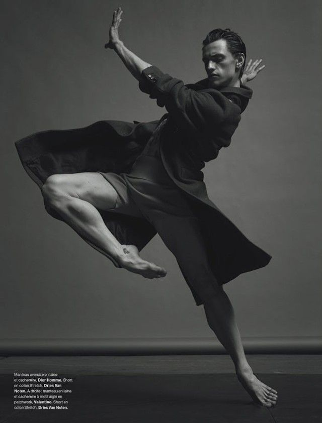 photographe Jacob Sutton a réalisé un shooting avec le danseur de ballet ukrainien Sergueï Polounine