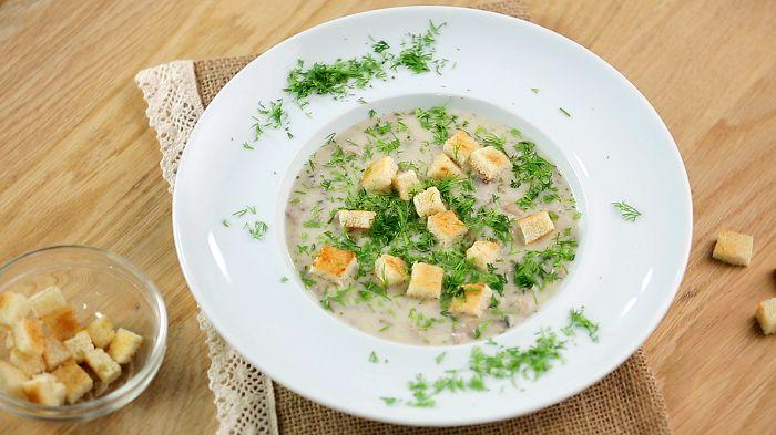 Идеальный обед: рецепт нежного грибного супа #АлексейСуханов #ТелеканалУкраїна #КулинарнаяакадемияАлексеяСуханова #рецепт #кулинария #еда #суп