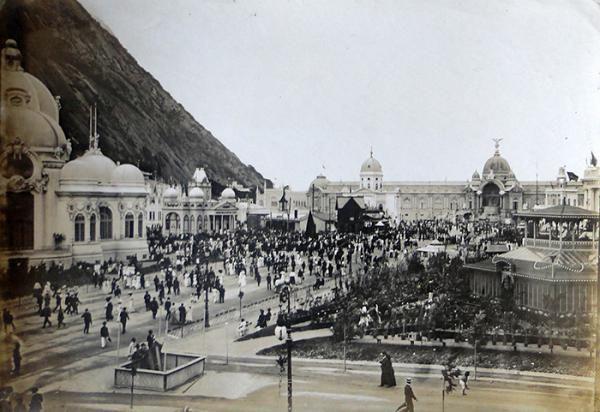 FOTOGRAFIA 02 EXPOSIÇÃO DE 1º CENTENÁRIO DE ABERTURA DOS PORTOS , 1908 URCA , RIO DE JANEIRO