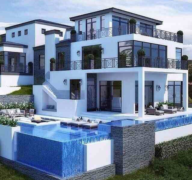 1586 best Amazing Mansions, Pools & Interior Decor images on ...