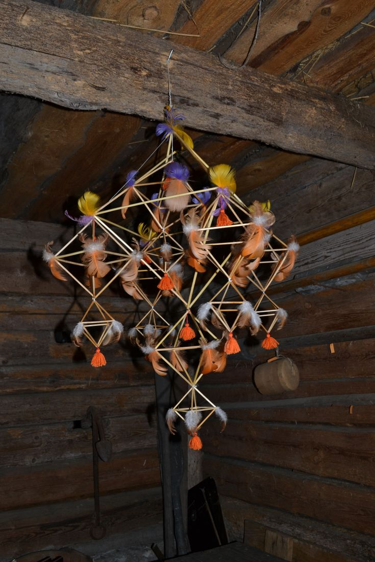 Puzurs. A Latvian decoration for the winter holidays. At the Open Air Ethnographic Museum http://www.brivdabasmuzejs.lv/