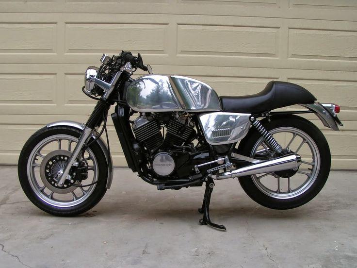 Honda Vt 500 Cafe Racer Motorrad Bild Idee