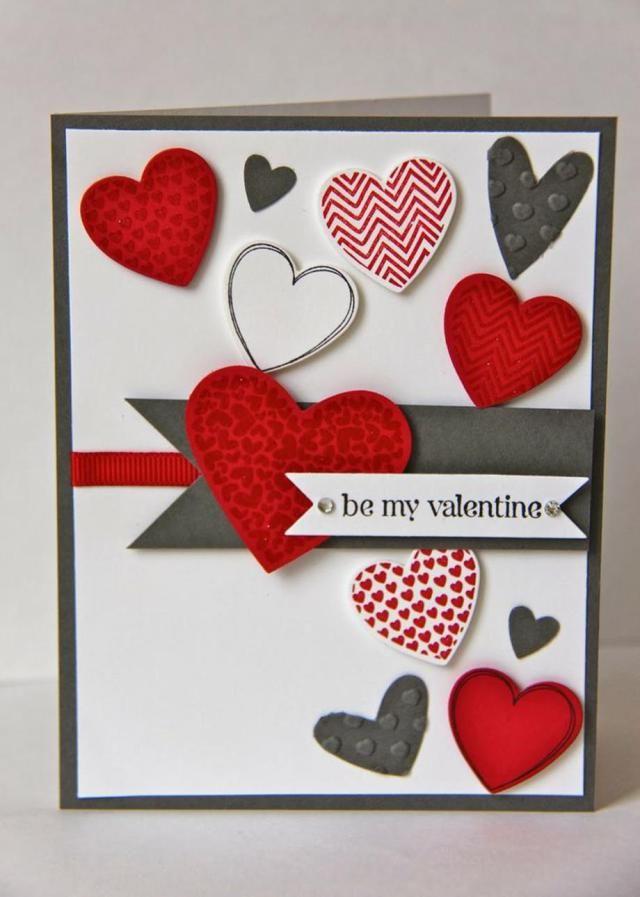 58 Romantic Valentines Days Card Ideas Valentine Cards Handmade