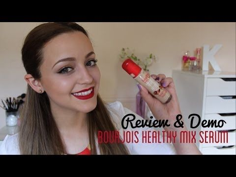 ▶ Review & Demo- Bourjois Healthy Mix Serum - YouTube