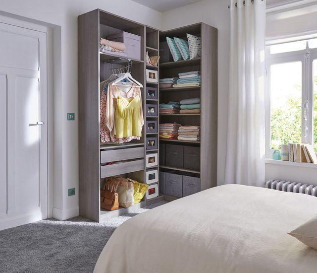 les 25 meilleures id es de la cat gorie dressing angle sur pinterest rangement d 39 angle petit. Black Bedroom Furniture Sets. Home Design Ideas
