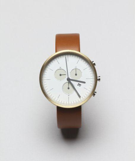 uniformwares chronograph wristwatch