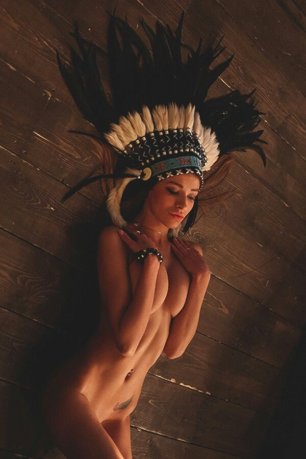 hot toppless native american girls