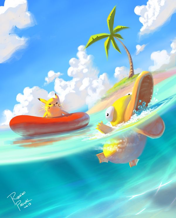 Pokemon Beach Created by Rodrigo Pascoal