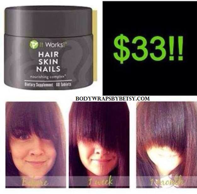 Order It works hair skin and nails today!! By texting me 832-340-4669 ...