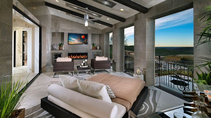 Donatello - Residence 3 floor plan of the The Estates at Del Sur community. 5 - 6 bedrooms / 5.5 - 6.5 bathrooms starting from $2,495,900.