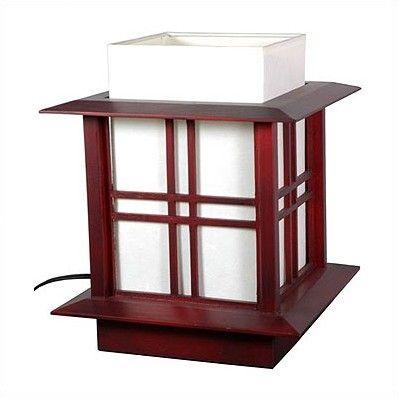 "Akida 12"" H Table Lamp with Rectangular Shade"