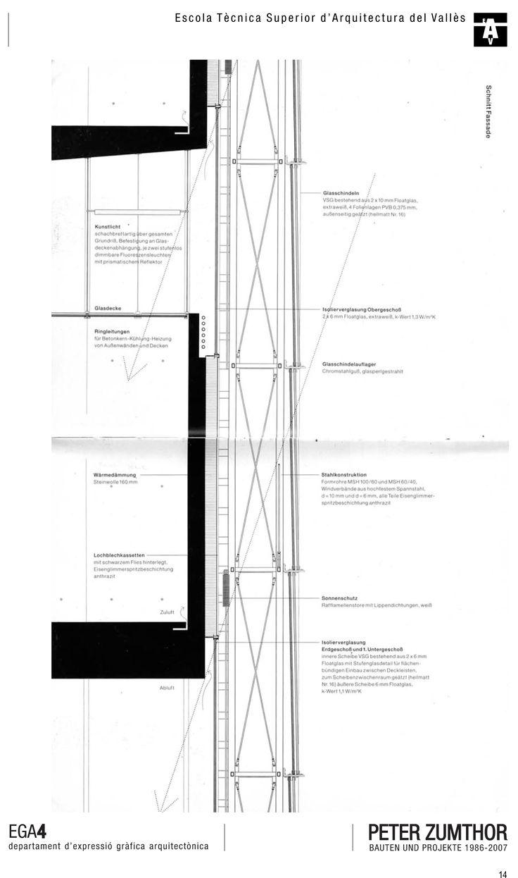 PETER ZUMTHOR // Kunsthaus Bregenz // Facade Detail