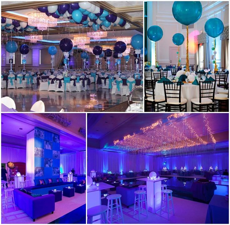 bar mitzvah decoration ideas