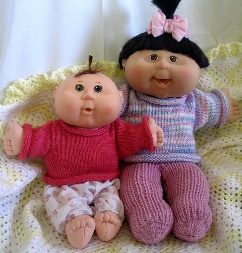 Knitting Patterns For Cabbage Patch Dolls : Cabbage Patch Dolls Knitting Patterns - curedevelopers