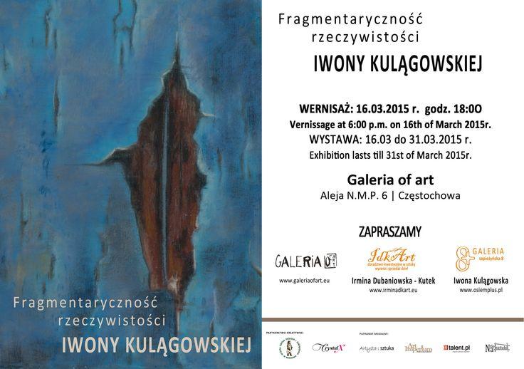 Fragmentaryczność rzeczywistości - Iwona Kulągowska - twórczość