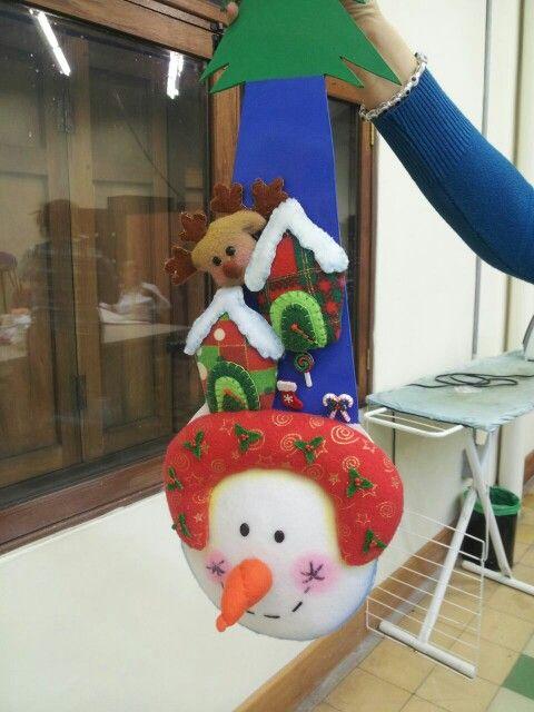 Cuadro muñeco de nieve