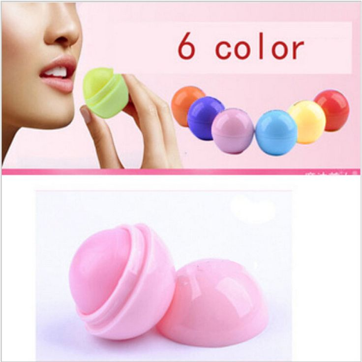 New Brand Makeup Natural Plant Sphere Lip Pomade Fruit Lip Balm Lipstick Organic Lip Ball Makeup Lipstick Gloss wholesale