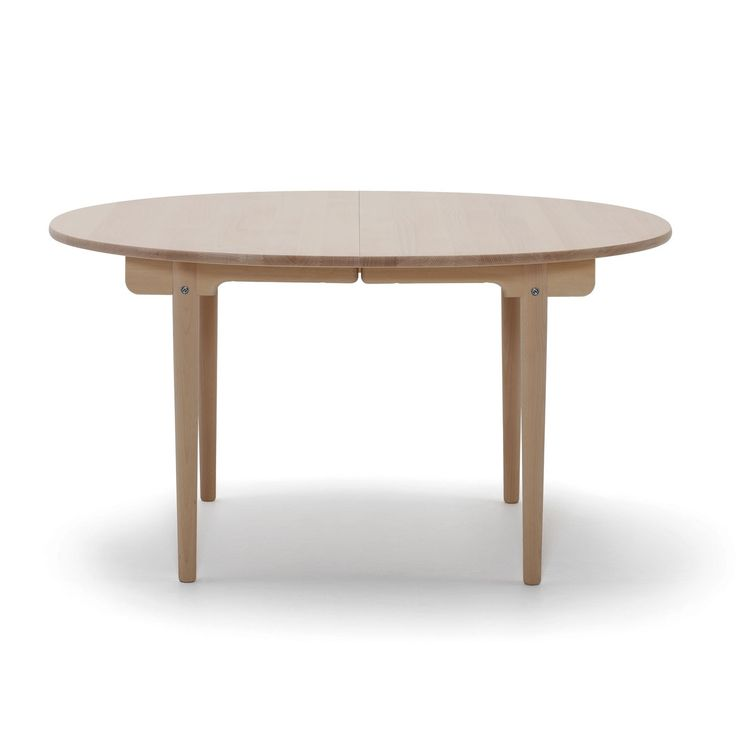 Another beautiful example of Wegner s visionary work this is an ideal table for everyday use – and also one that easily rises to the occasion for
