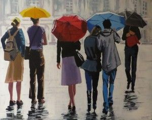 """Street Scene"" by Terry Wood"