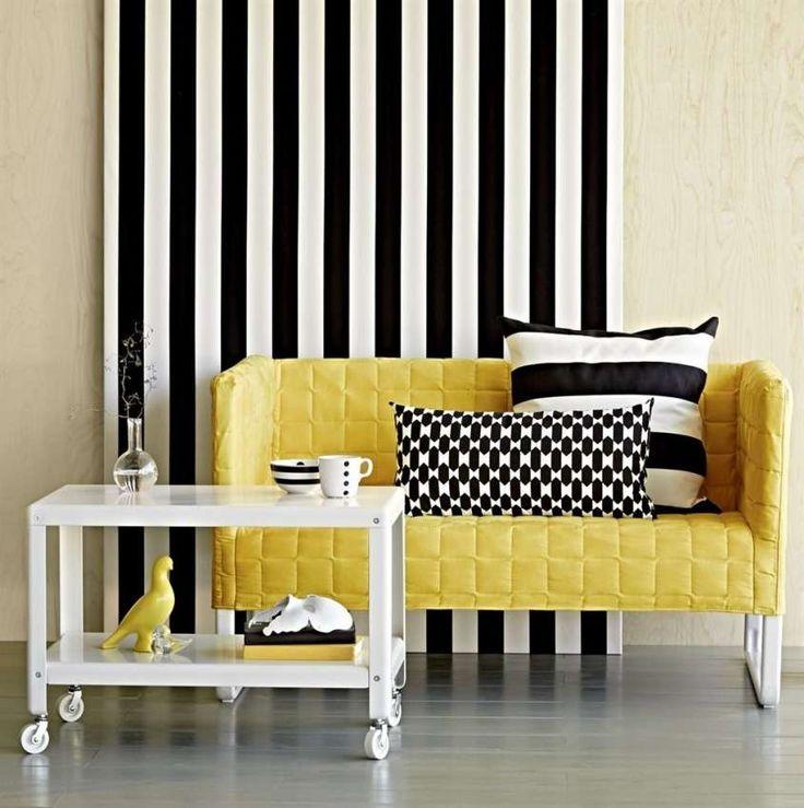 Tessuti per divani - Divano giallo