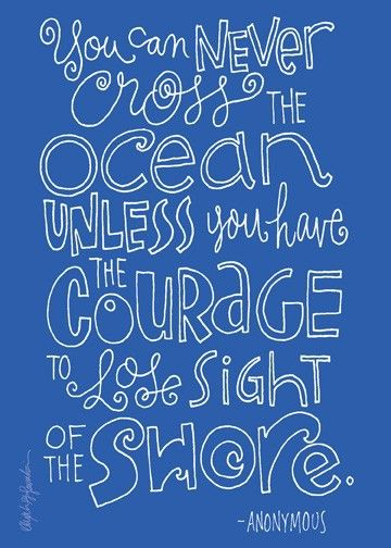 Words Of Wisdom, Remember This, Cheesy Quotes, Keep Swimming, Beach Bathroom, The Ocean, Motivation Quotes, Lose Sight, Leap Of Faith