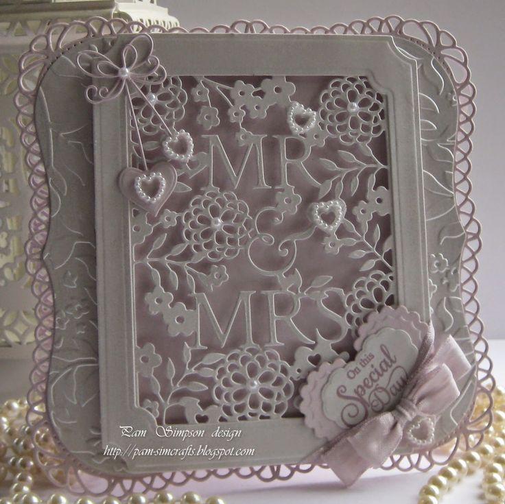 Simple wedding Card.
