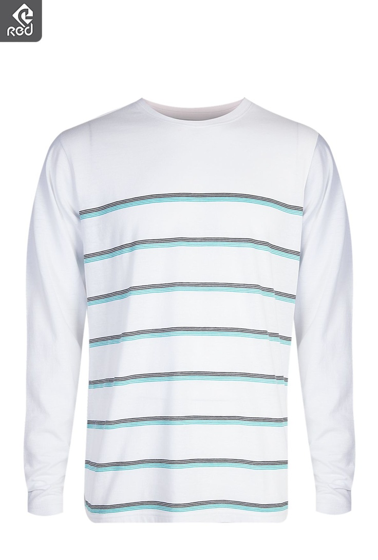 Mens Long Sleeve Stripe T-shirt | Winter Coasting