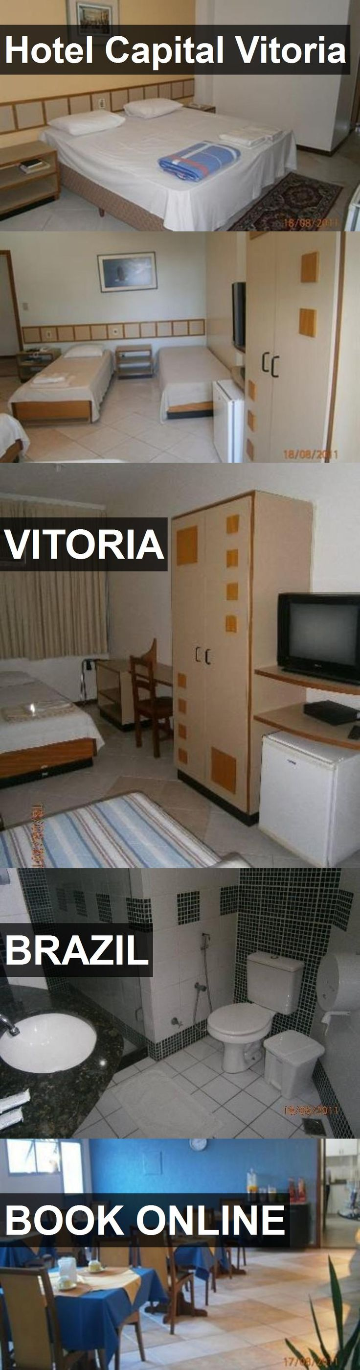 Hotel Hotel Capital Vitoria in Vitoria, Brazil. For more information, photos, reviews and best prices please follow the link. #Brazil #Vitoria #hotel #travel #vacation