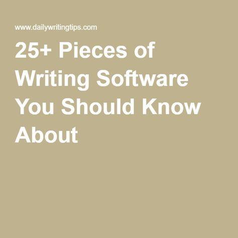 Best 25+ Writing software ideas on Pinterest Novel writing - best resume writing software