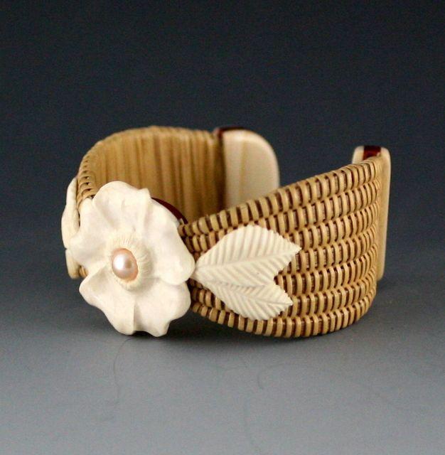 """Nantucket Basket Weave Bracelet"""
