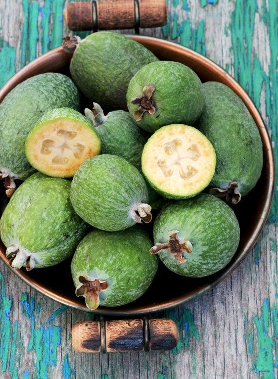 Three Feijoa Recipes | Dish Now that I am living in NZ and we have one of these plants in our backyard, might as well learn what I can make with them.