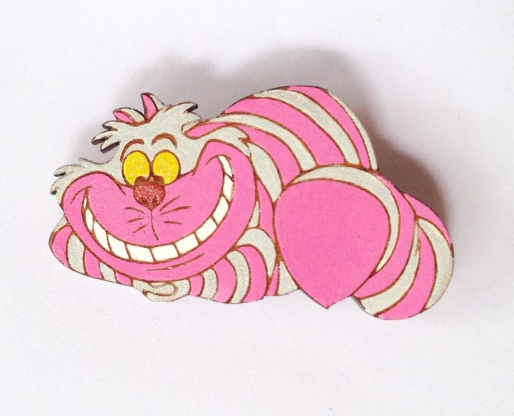 A personal favourite from my Etsy shop https://www.etsy.com/au/listing/266075247/alice-in-wonderland-cheshire-cat-brooch