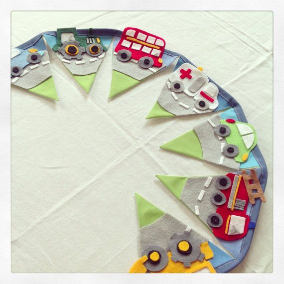 Boys car bunting by Bettybuntings on Etsy