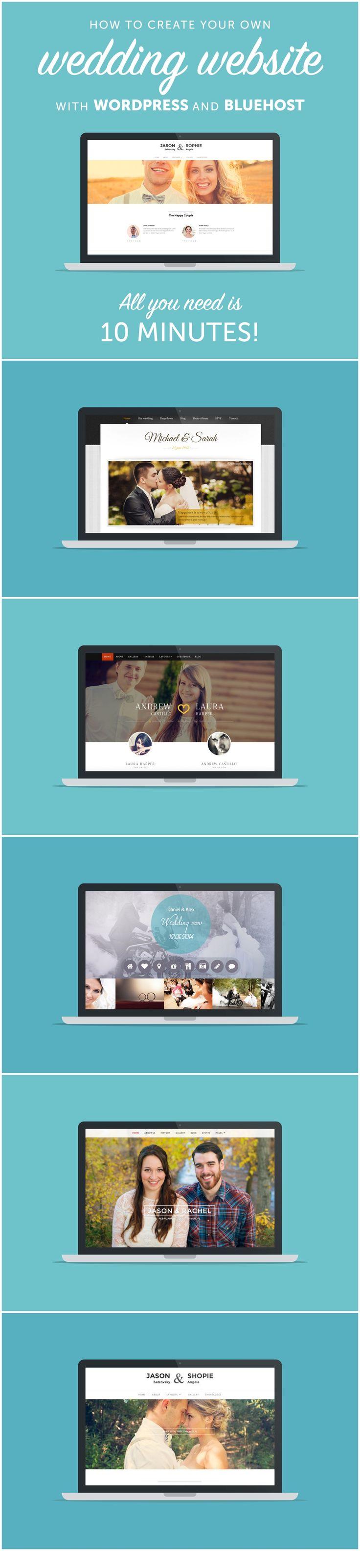 Create Your Own Wedding Website with Wordpress