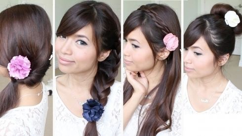 Brilliant Quick And Easy Hairstyles For Long Hair Desirable