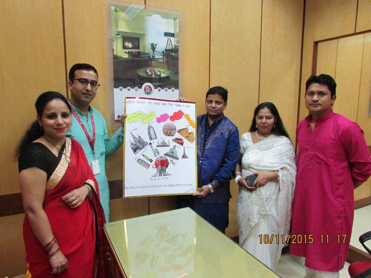 Office Diwali Celebration
