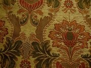 Victorian Floral Chenille Upholstery Fabric Gold: S-JuliaGold Fabric and Upholstery Fabric Store for Discount Drapery Fabric, Glen Raven Sunbrella Outdoor Fabric, and Designer Fabrics by the Yard.